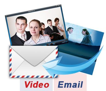 3. Video Email Service  You simply choose your template, record your video and then send your video message to your whole team with 1 click of a mouse directly to their inbox or by posting it on your blog! Being available by a pre-recorded video provides the best form of communication.