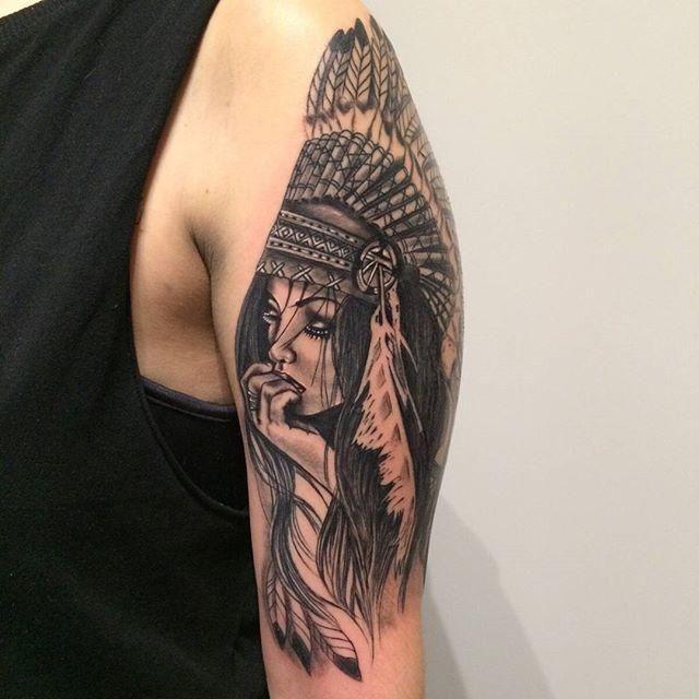 Tatuagens de india