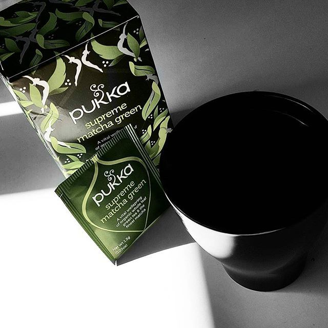 can't start the day without my greentea✋    #greentea #matcha #matchatea #pukka #pukkatea #healty  #detox #natural #instagood #instadayly #pictureoftheday