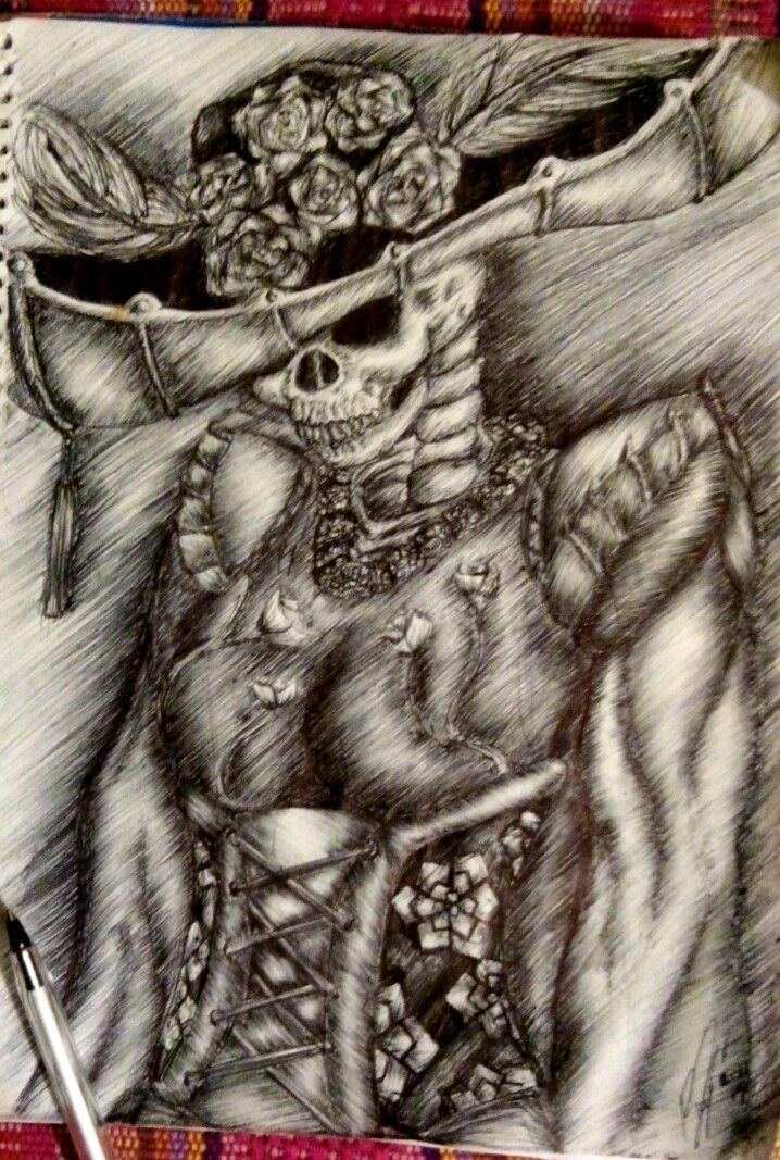 Santa Muerte Drawings Easy 38182 Newsmov