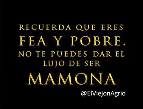 Fea, Naca y Pobre... ---> http://inf.mx