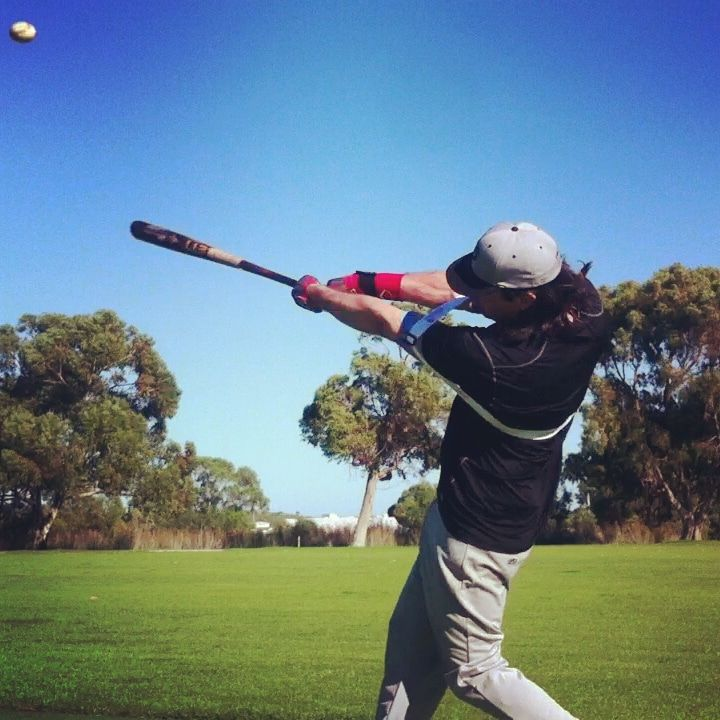 Momentum Force Exopower Staying Through The Ball Hitting Trainer Swing Trainer Muscle System Momentum