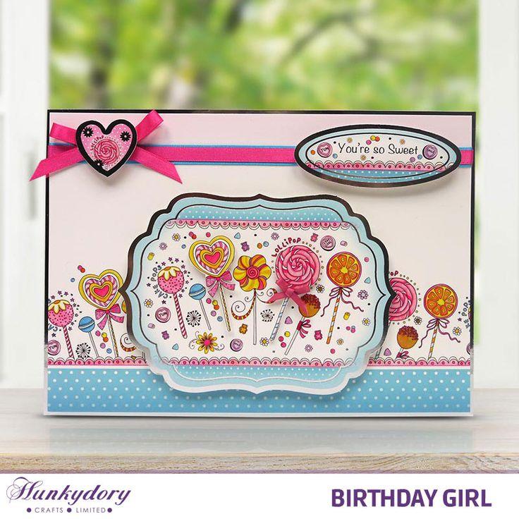 Birthday Girl | Hunkydory Crafts