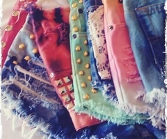 shorts shorts shorts: Dreams Closet, Shorts Shorts, Summer Style, Ties Dyes Shorts, Diy Clothing, Jeans Shorts, Studs Shorts, Denim Shorts, Summer Shorts