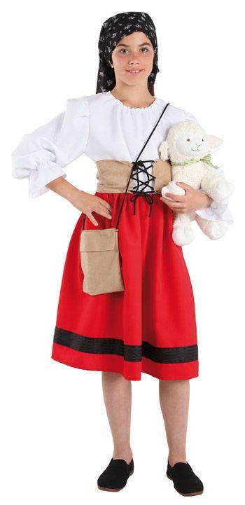 Disfraz pastora para belenes vivientes disfraces navidad - Disfraces para navidad ...