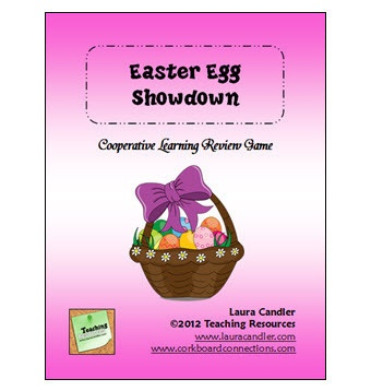 Easter Egg Showdown Review is a fun cooperative learning review game created by Laura Candler -  Pinned by @PediaStaff – Please Visit http://ht.ly/63sNt for all our pediatric therapy pins