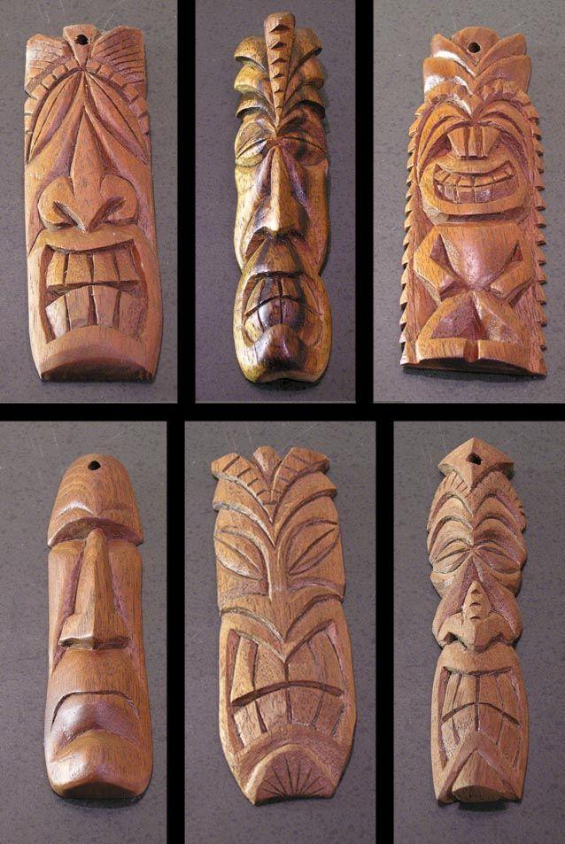 Tiki Pendants 3 by tflounder on DeviantArt
