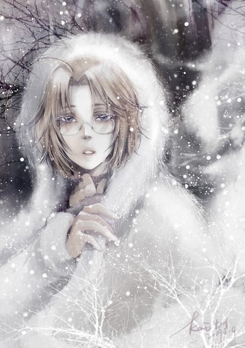 """I want to see a matching portrait of Russia. (""""Hetalia Canada Matthew Williams"""")"""