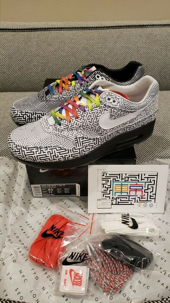 buy popular bdc5f 3d4df Nike Air Max 1 On Air Tokyo Maze Yuta Takuma CI1505-001 DS Men s US
