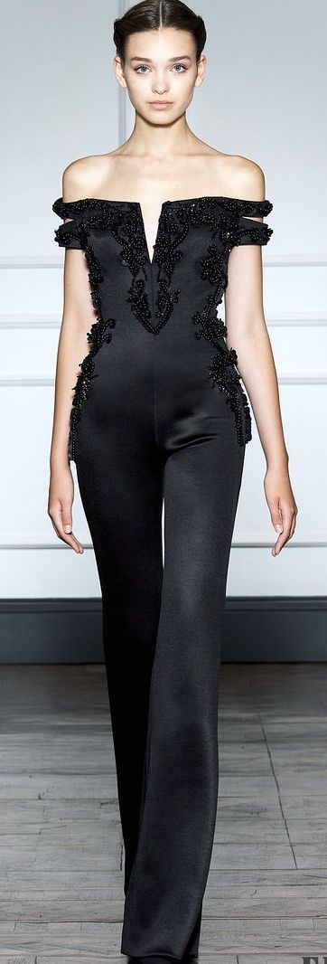 Dilek Hanif Couture FW 2014 - 2015, possibly the only jumpsuit I've ever liked