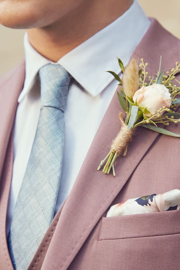 FINAL FLOURISHES: Give careful consideration to pocket squares, buttonholes and ties