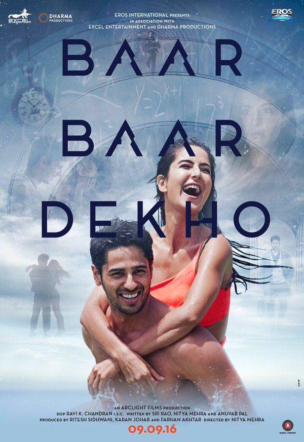 "katrinakaifs: "" ""Presenting Baar Baar Dekho's First Poster! "" """