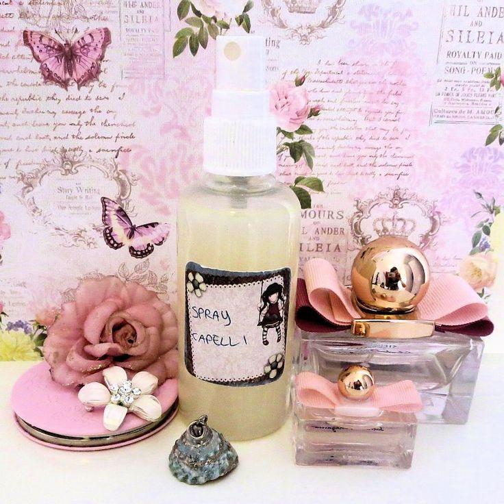 Spray condizionante e lucidante per capelli - EdenStyleMagazine.it - Cosmetici fai da te e creatività