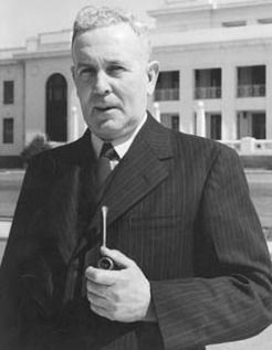 Joseph Benedict Chifley (1885-1951), by unknown photographer, 1940s