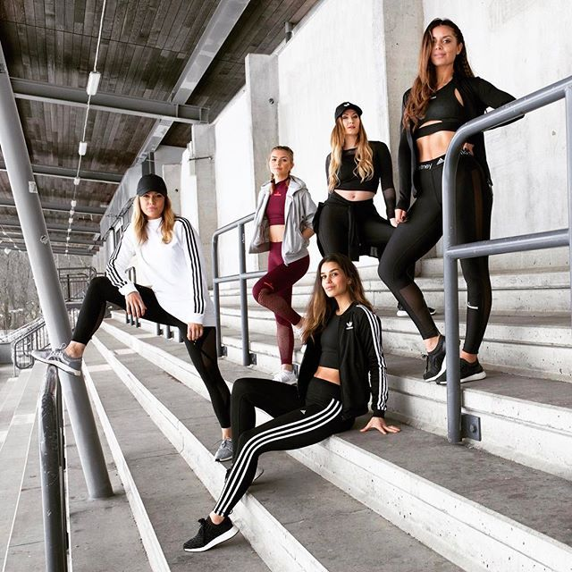 """ADIDAS X FASHIONABLEFIT STUDIO  _____________________________________________________________  International Women's Day • Wednesday 8th of March we are opening up our brand new studio @urbandelisveavagen 💪🏼🙌🏼👊🏼 Come celebrate that """"The Future is Female"""" with us in FASHIONABLEFIT GRL PWR spirit. Free classes and fun surprises all day 🙌🏼⚡️🙌🏼 Join our Facebook group (link in bio) and stay tuned as we will be sharing the time table shortly for the 8th of March. Let's do this…"""
