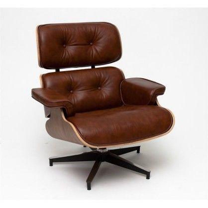 Fotel Vip brązowy/walnut