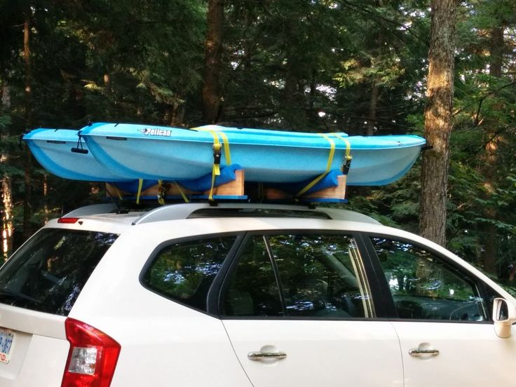 Car Top 2 Kayak Rack (roof Rack Cars Only) About 30