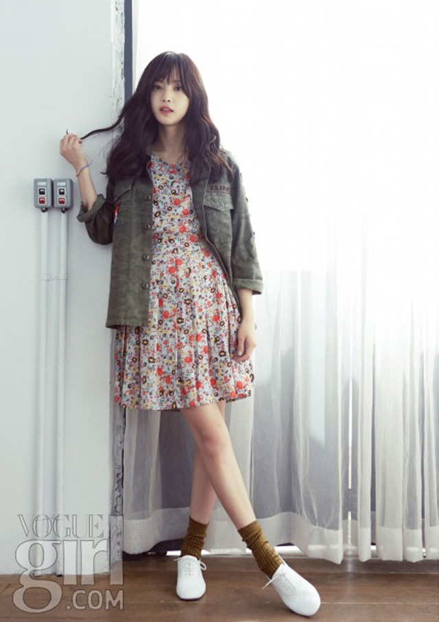 Yoon Seung Ah For Vogue Girl Korea's March Issue | Couch Kimchi