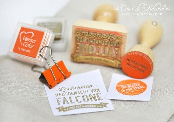 Keksverpackung I Cookie packaging I Retro Homemade Stempel I homemade stamp I food packaging I Casa di Falcone