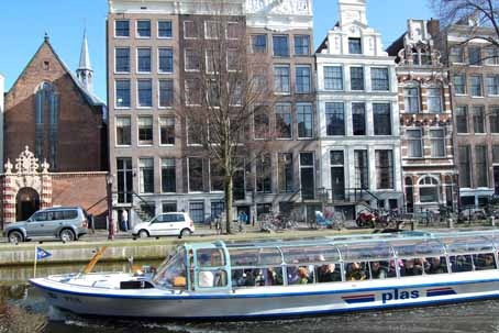 Rehberg took one of the famous boat cruises down the River Amstel, while on a tax-payer funded trip to Amsterdam.