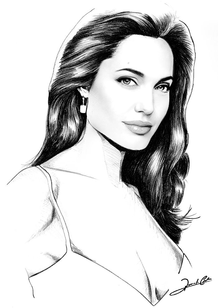 Angelina Jolie By Renato Cunha