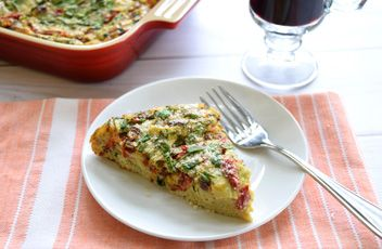Mediterranean Oven Omelet | Recipes & Tips | Mezzetta.com | Don't Forgetta Mezzetta