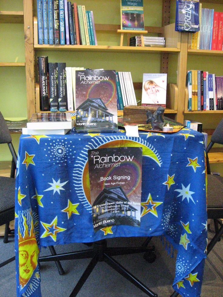 Rainbow Alchemist table at Crystal Dawn