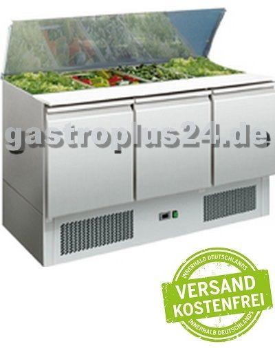 Eine professionelle Saladette für die #Pizzeria und die #Gastronomie: #Gastronomiebedarf bei www.gastroplus24.de