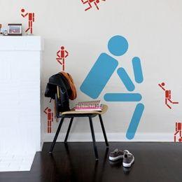 Sticker muraux Personnages Icones large par Studio 2x4 - Sticker muraux géants inédits & officiels!