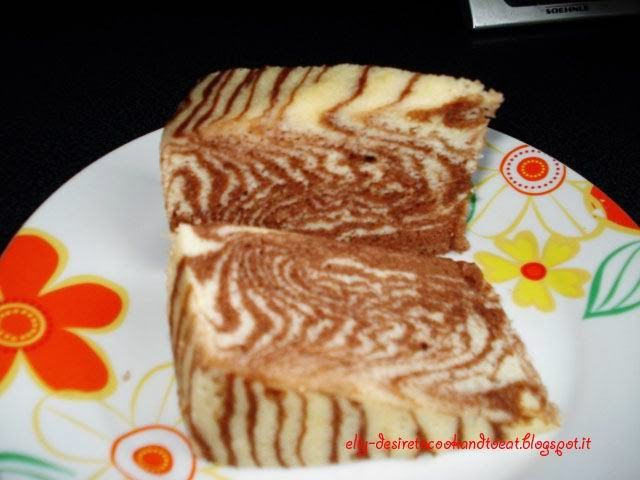 Marble Steamed Cake