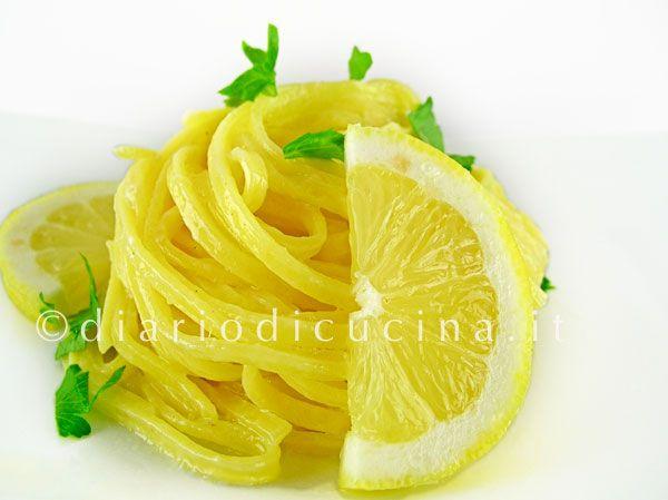 Ricetta Tagliolini al Limone - Diario di Cucina. Expat-Mamma in Fra..