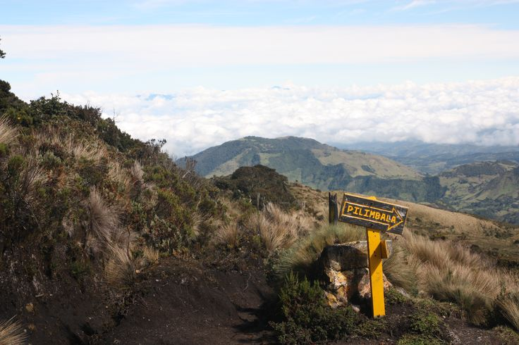 Going up Purace volcano. Great views!!