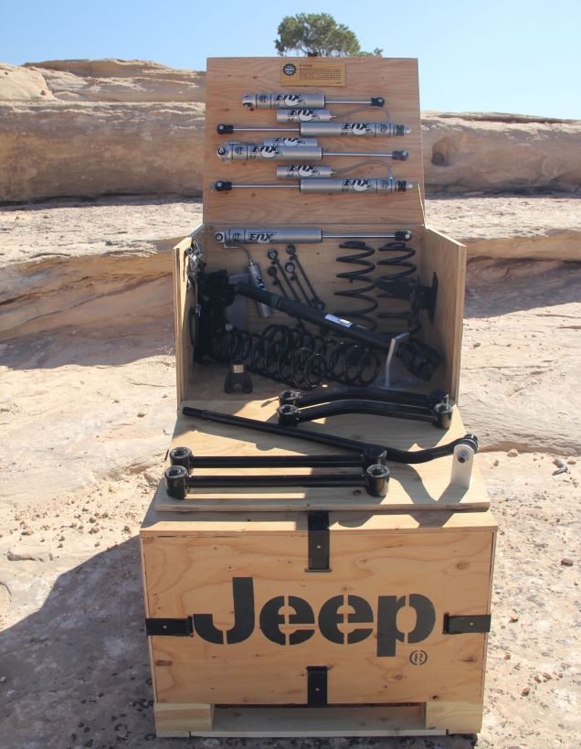 Jeep Is Finally Making Their Own Lift Kits You Can Buy At A Dealership