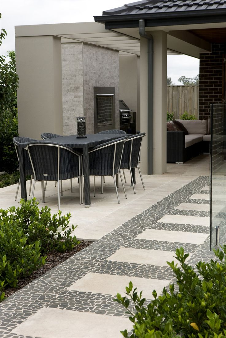 Stone and tiles outdoors Outdoor tile patio, Outdoor