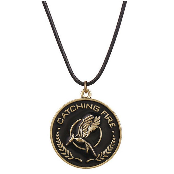Горячая новые фильмы игры ожерелье ретро-панк стиль ожерелье ви желудь логотип смех птицы попугай ожерелье CC2473