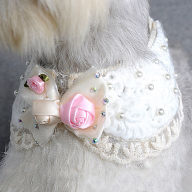 Elegant+Rhinestone+Bowknot+Necklace-like+Collar+for+Pets+Dogs+-+USD+$+6.19