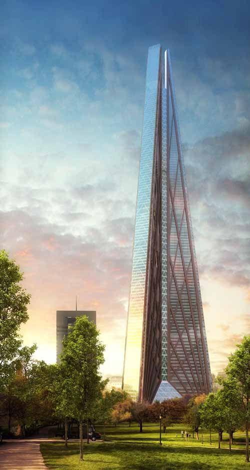 New Moscow Skyscraper Russia