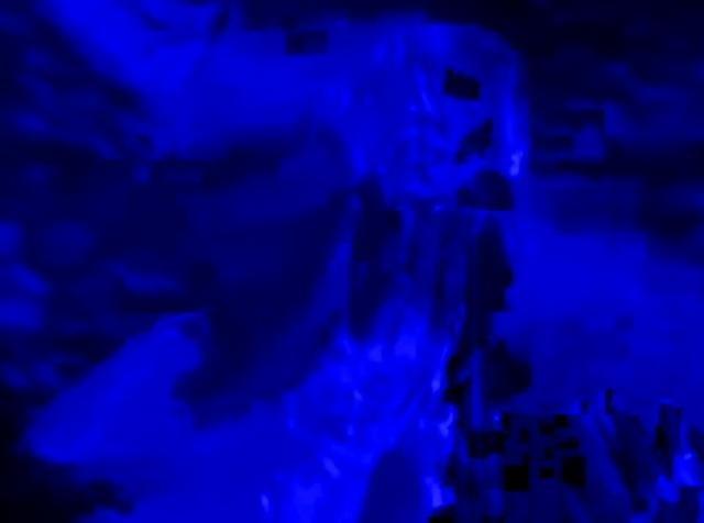 worship / blue edit by Thibault Proux. fully blue / website edit