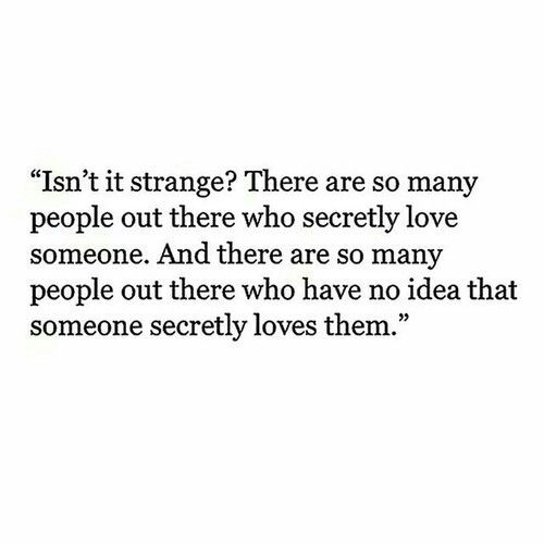 secretly dating someone quotes