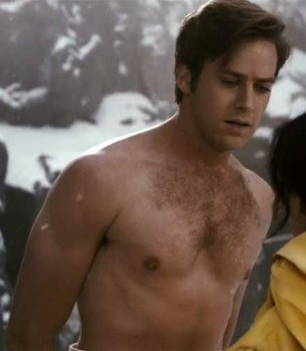 Image result for armie hammer shirtless