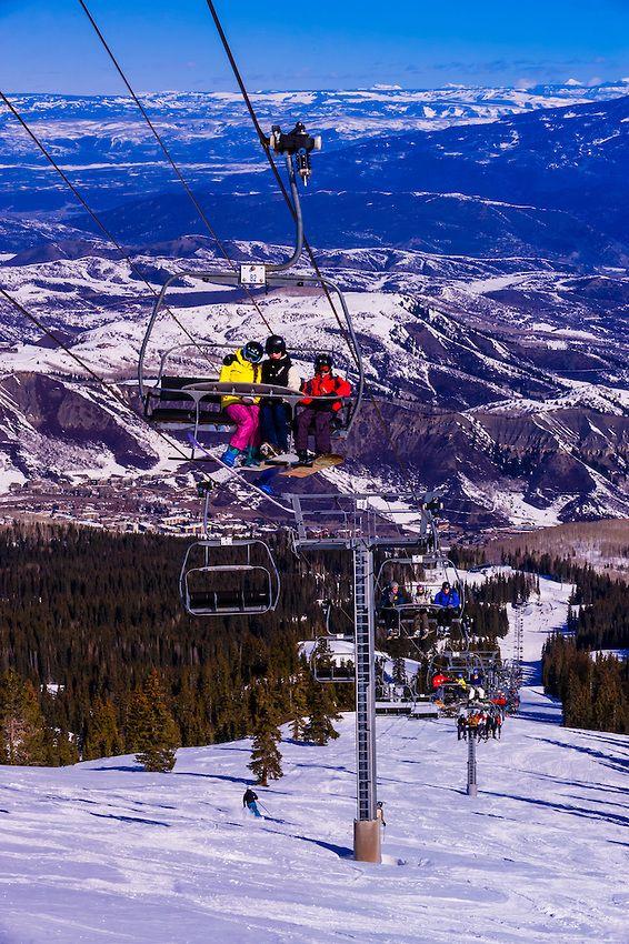 Snowmass (Aspen) ski resort, Snowmass Village, Colorado