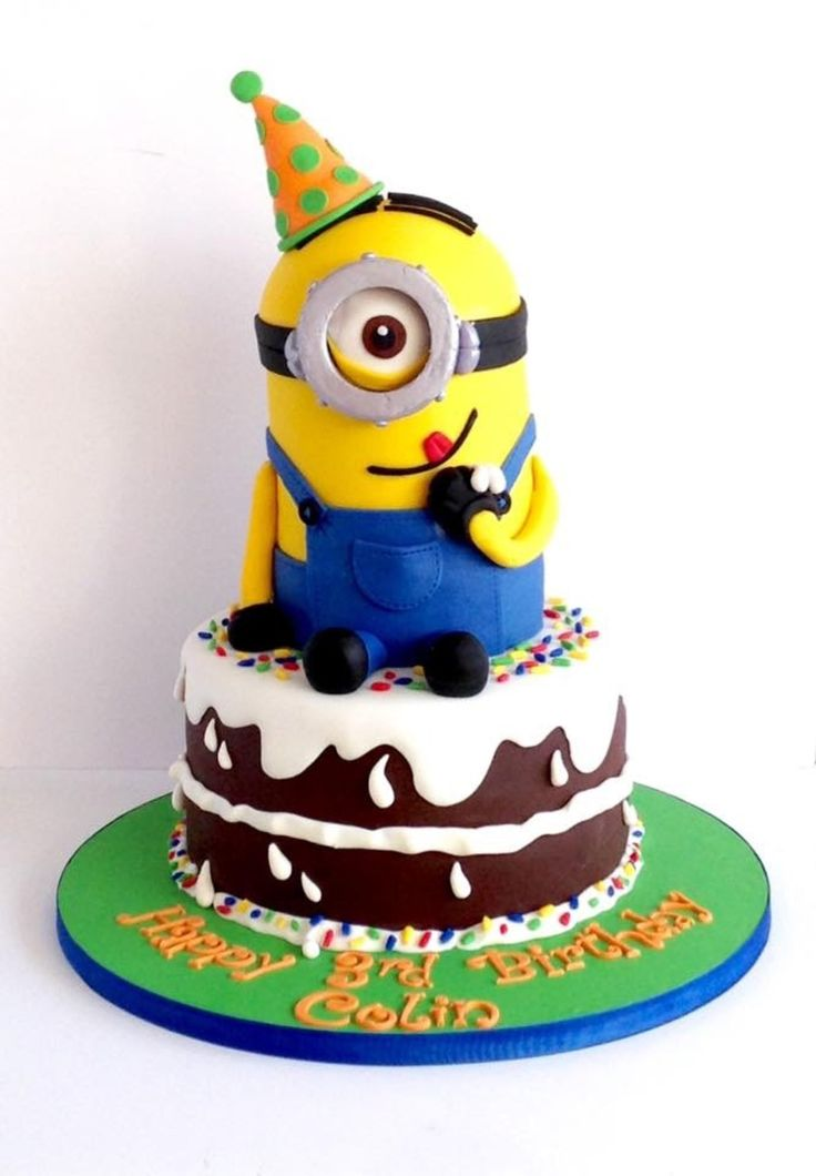 87 best Minions images on Pinterest Minion cakes Anniversary