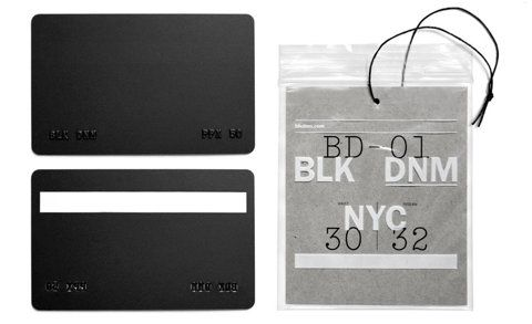 Every Little Thing: Graphic Design, Business Cards, Dnm Nyc, Blk Dnm, Hangtag, Packaging, Branding, Triboro Design
