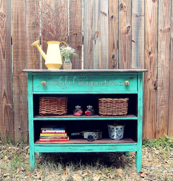 Recycled Dresser Into a Fun Piece :: Hometalk