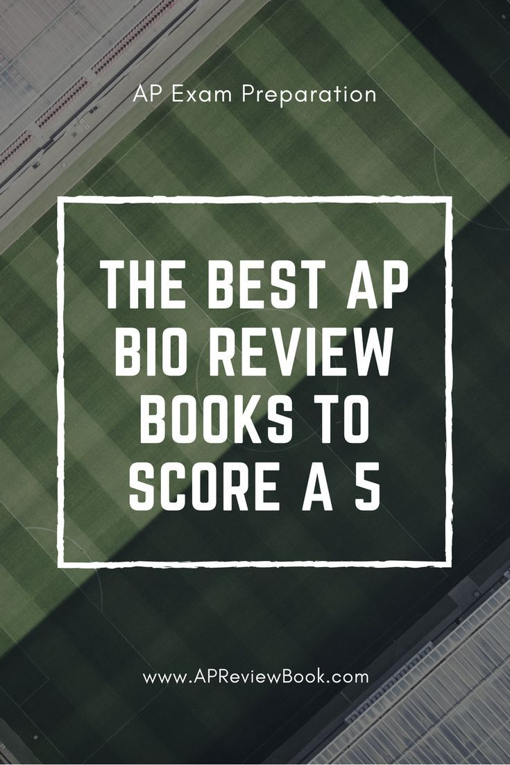 The Best AP Biology Review Books To Score a 5 #APBio #APBiology  #APReviewBooks #APBooks