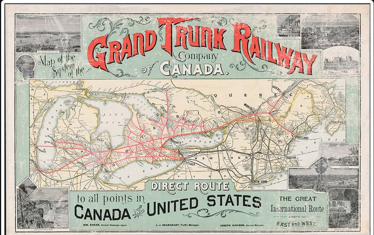 Canadian Geographic on Logo design love, National rail