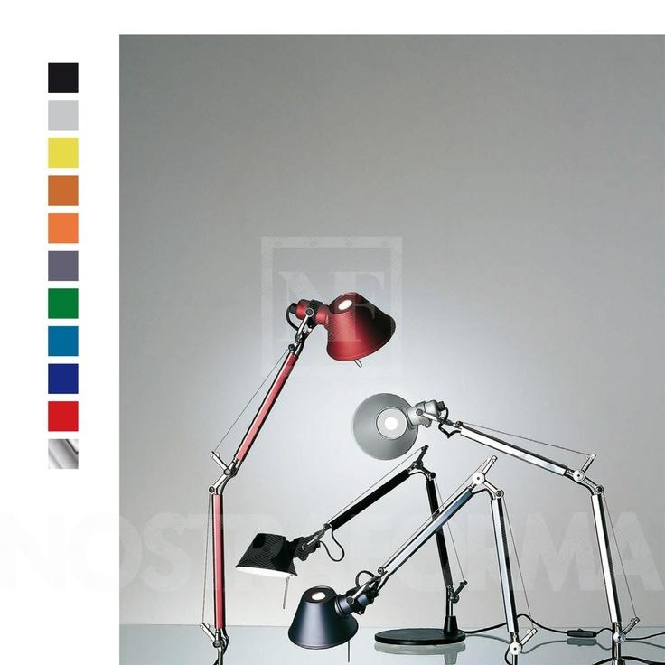 Artemide Tolomeo Micro Tischleuchte mit Tischklemme » Design Leuchten, Lampen & Möbel bei NOSTRAFORMA