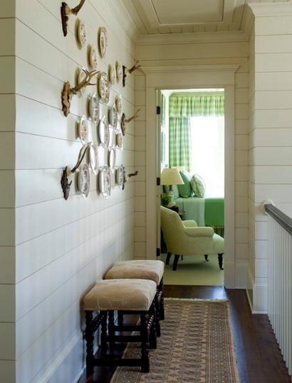 Clapboard walls, yes please!