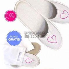Zapatillas para bodas