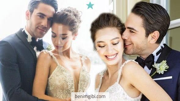 Kadir Doğulu ile Neslihan Atagül bu akşam Ajia Otel'de evlendi! İşte fotoğraflar…